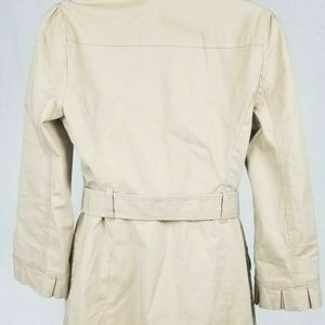 Juicy Couture Jackets & Coats - Juicy Couture Tan Trench Coat Medium